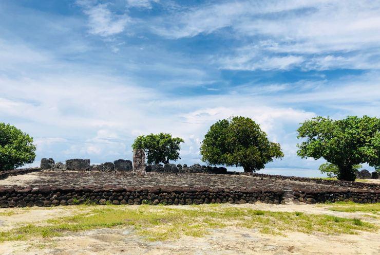 Marae Taputapuatea - Raiatea - Polynésie