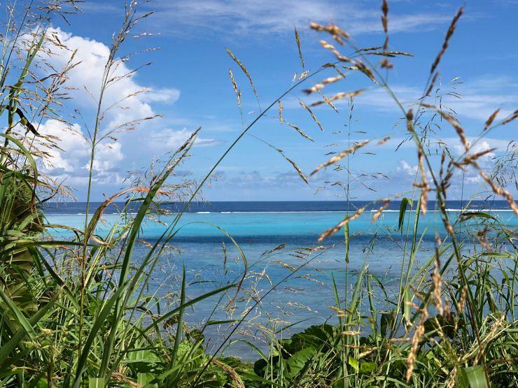Eau turquoise du lagon - Raiatea - Polynésie