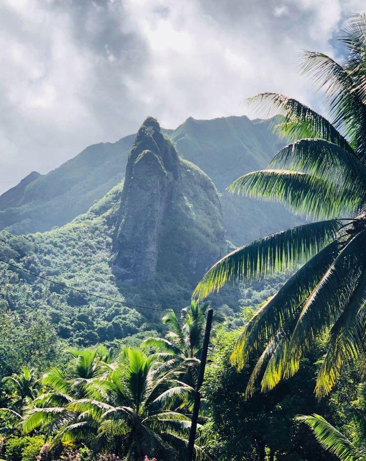 Pain de Sucre - Raiatea - Polynésie
