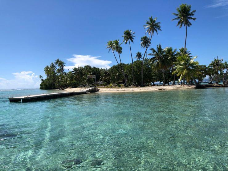 Motu Ofetaro- Raiatea - Polynésie