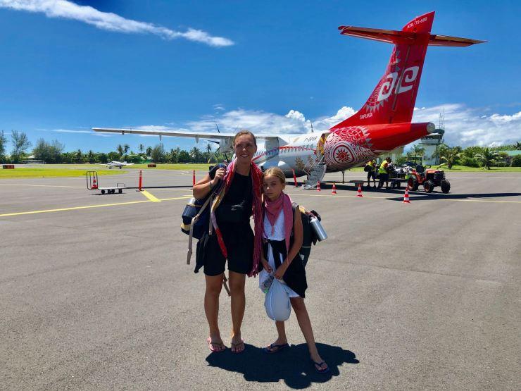 Arrivée à Moorea - Polynésie