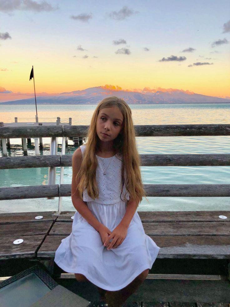 Jolie comme un cœur pour apéro de luxe - Sofitel - Moorea - Polynésie
