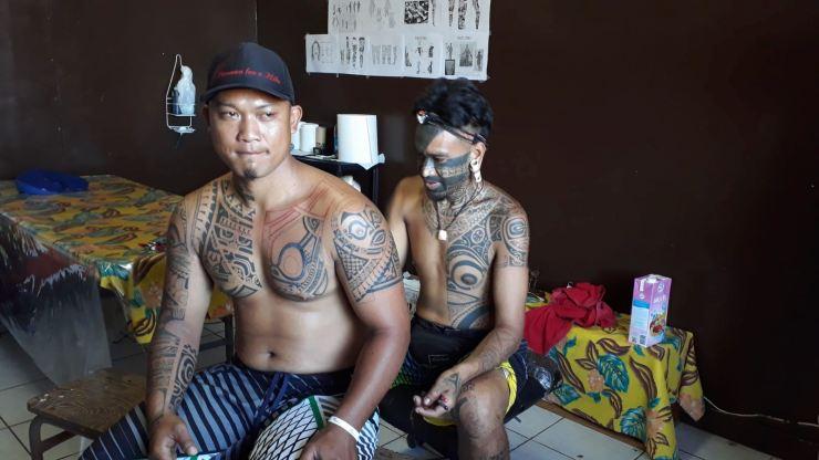 Tatouage - Nuku Hiva - Iles Marquises - Polynésie