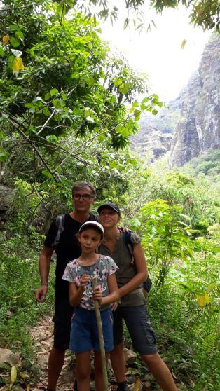 Dans la vallée d'Hakaoui - Nuku Hiva - Iles Marquises - Polynésie