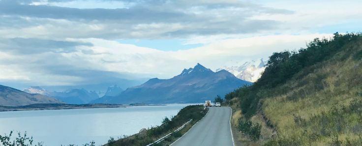 """Vers le Perito Moreno - Parc National """"Los Glaciares"""" - Argentine"""