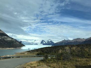 """Première image du Perito Moreno - Parc National """"Los Glaciares"""" - Argentine"""