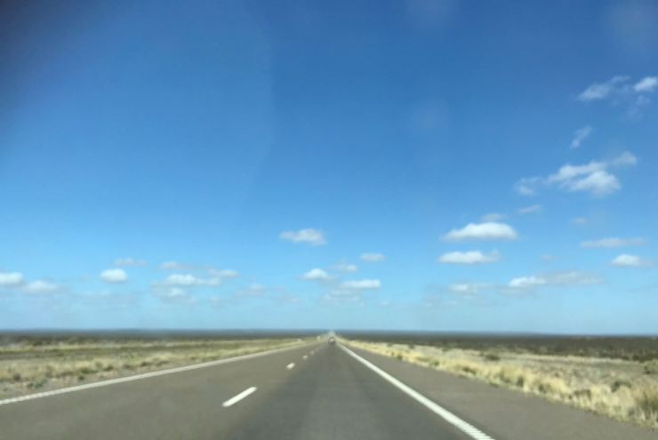 On the Road... - Vers Punta Tombo - Argentine