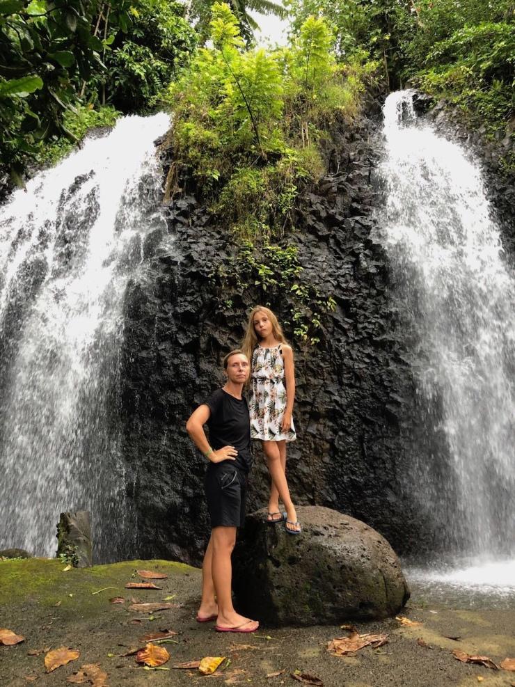 Mère et fille - Tahiti - Polynésie