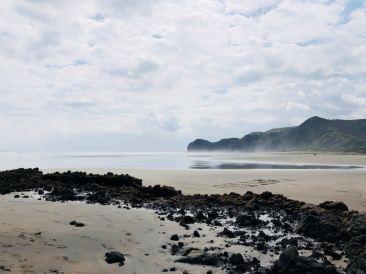 Plage de Piha - Nouvelle-Zélande