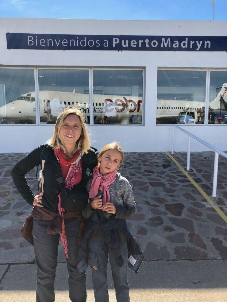Arrivée à Puerto Madryn - Argentine