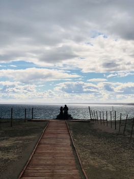 Fin du jour - Punta Tombo - Argentine