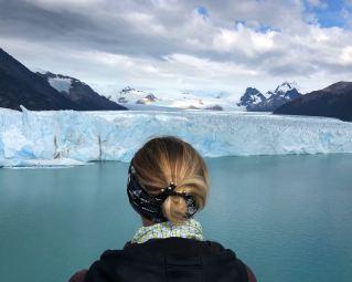 "Devant la beauté du Perito Moreno - Parc National ""Los Glaciares"" - Argentine"
