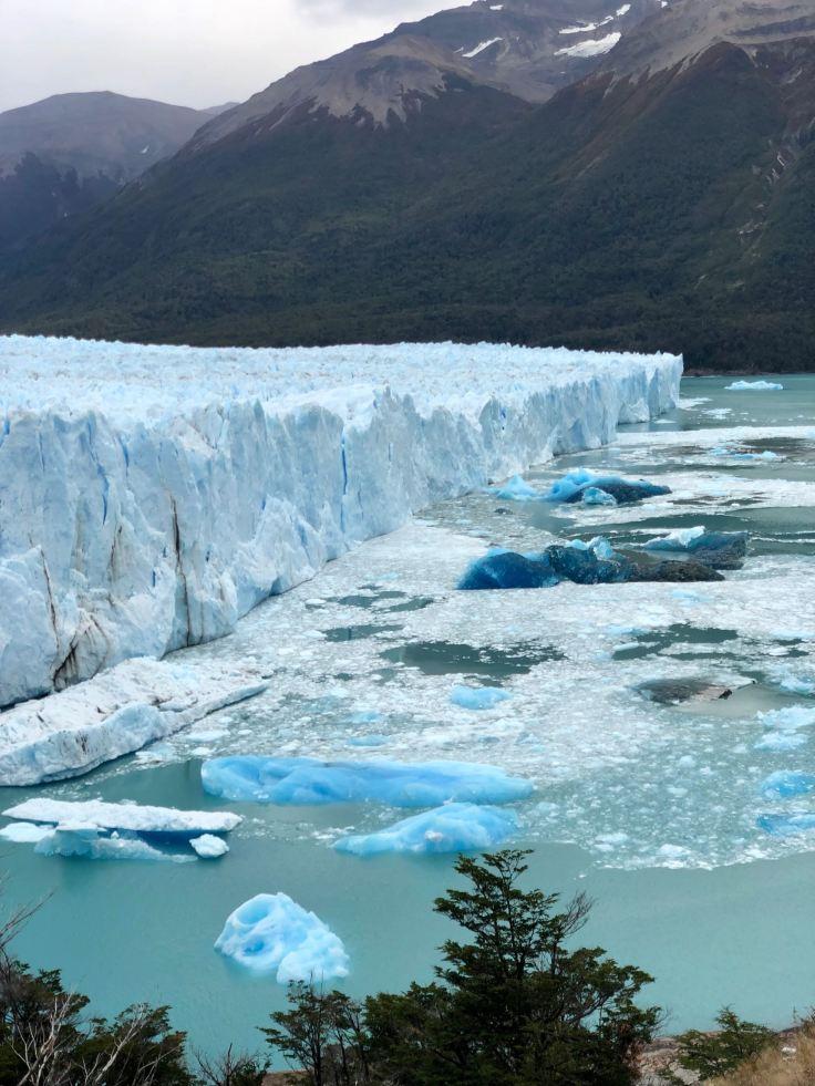 "Perito Moreno et iceberg- Parc National ""Los Glaciares"" - Argentine"