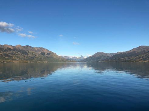 """Reflets sur le Lago Argentino et Glacier Upsala en fond - Parc National """"Los Glaciares"""" - Argentine"""