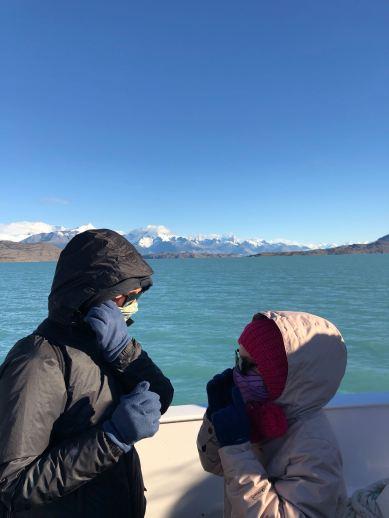 """Y'en encore un peu d'air qui passe, là - Sur le Lago Argentino - Parc National """"Los Glaciares"""" - Argentine"""