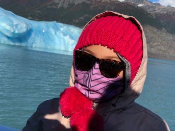"""Eden devant l'Iceberg - Lago Argentino - Parc National """"Los Glaciares"""" - Argentine"""