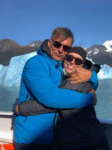 """Calin pour se réchauffer - Lago Argentino - Parc National """"Los Glaciares"""" - Argentine"""
