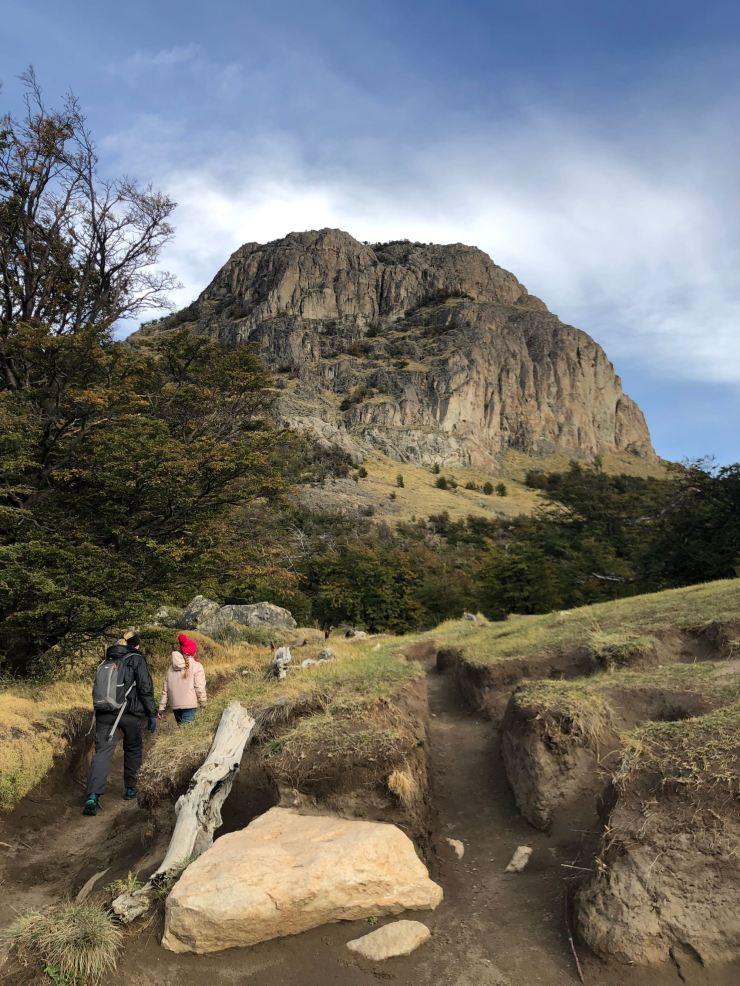 Debut du treck vers le Fitz Roy - El Chaltén - Argentine