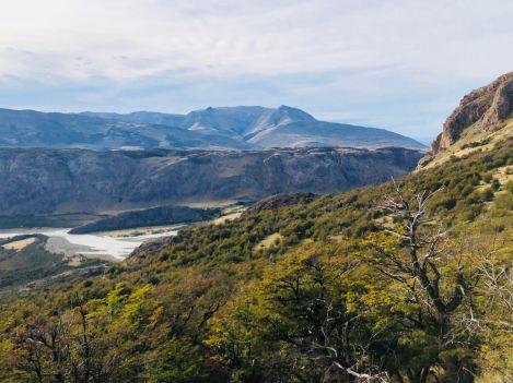 Paysage de Patagonie - treck du Fitz Roy - El Chaltén - Argentine