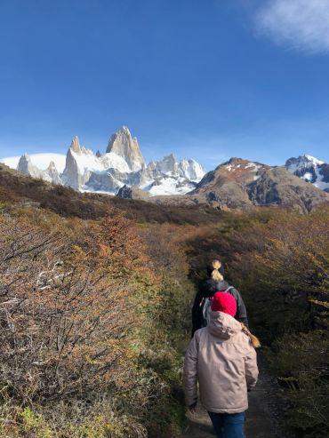 Reprise de la marche vers le Fitz Roy - El Chaltén - Argentine