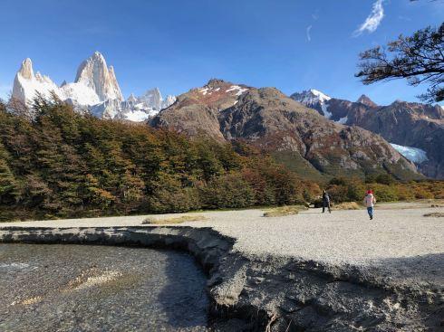 Immensité des paysages - treck du Fitz Roy - El Chaltén - Argentine