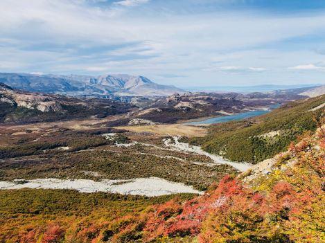 Lande et lacs glaciaires - Paysages de Patagonie - Argentine