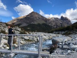 Il suffit de passer le pont ...El Chalten - Patagonie - Argentine