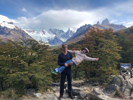 Non mais c'est quoi cette position ? - Mirador de la Laguna Torre - El Chalten - Patagonie - Argentine
