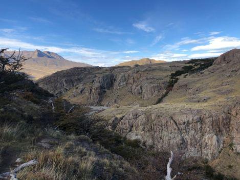 Chute d'eau - El Chalten - Patagonie - Argentine