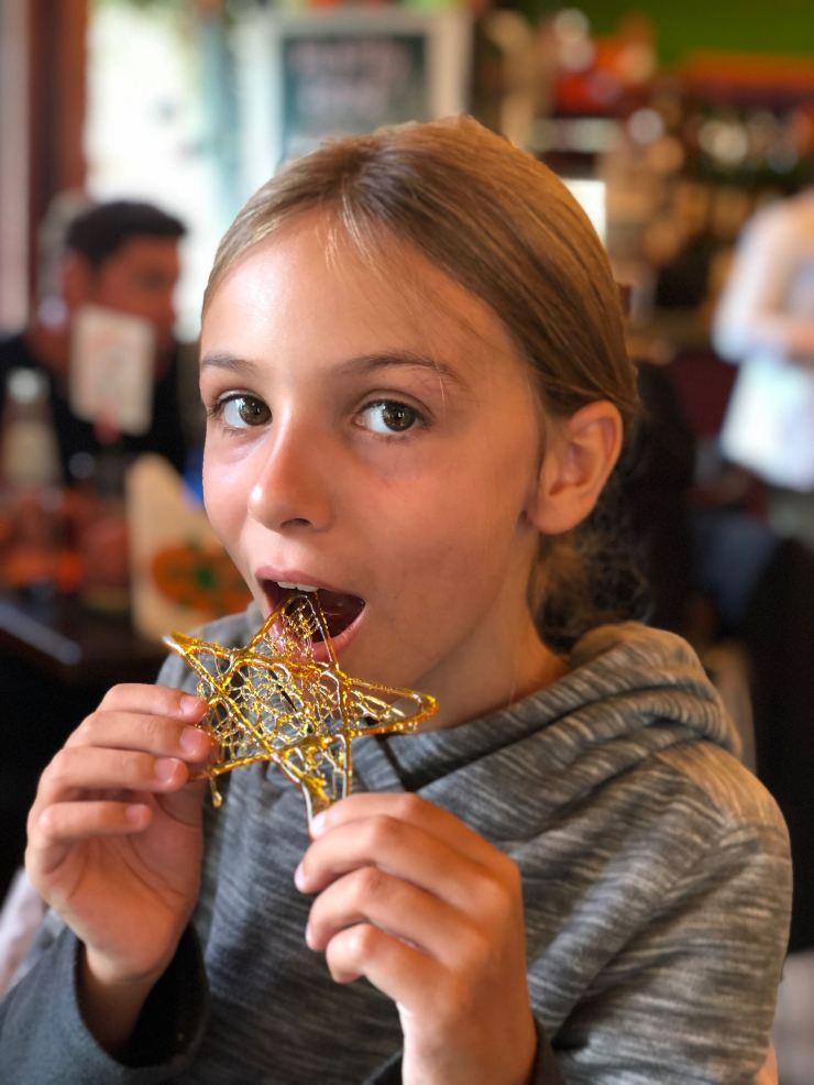 La crêperie qui fait des étoiles en sucre. Délicioso ! - El Calafate - Argentine
