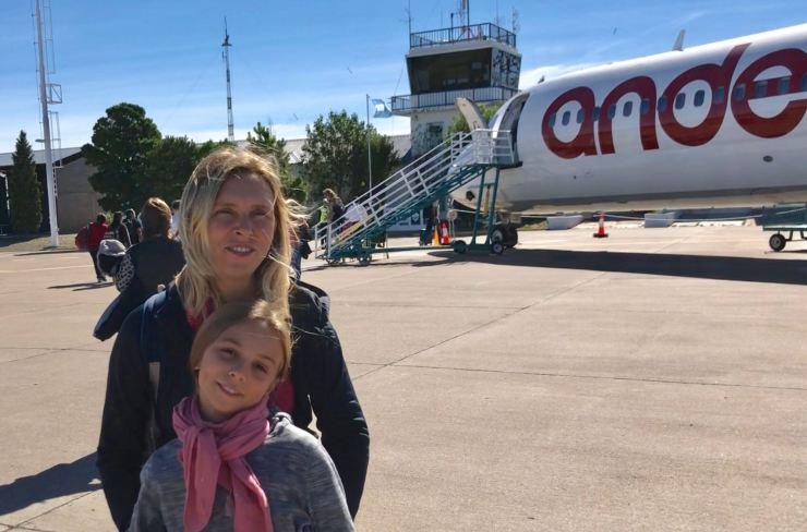 Vol vers El Calafate - Argentine