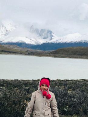 Eden devant las Torres del Paine - Patagonie - Chili