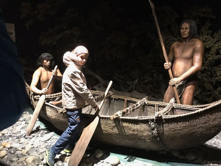 Yamanas - Museo de Historia Fueguina - Ushuaïa - Terre de Feu - Argentine