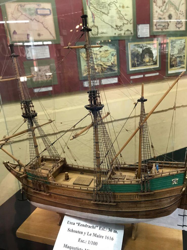 Maquette de galion - Muséo Maritimo y del Presidio - Ushuaïa - Terre de Feu - Argentine