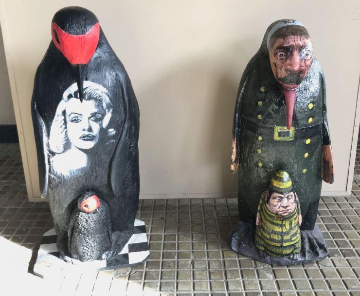 Expo de manchots - Muséo Maritimo y del Presidio - Ushuaïa - Terre de Feu - Argentine