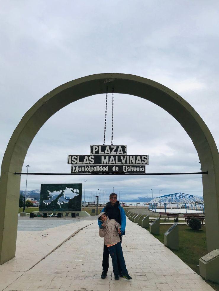 Place des îles Malouines - Ushuaïa - Terre de Feu - Argentine