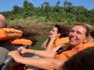 Cheveux au vent - Iguazu - Brésil