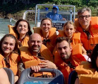 Avant d'être tout mouillés - Chutes d''Iguazu en bateau - Brésil