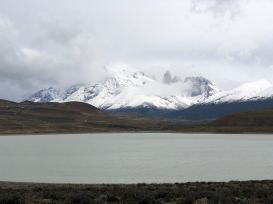 Au fond, las Torres del Paine - Patagonie - Chili
