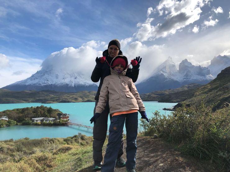 Devant le Mirador Condor - Torres del Paine - Patagonie - Chili