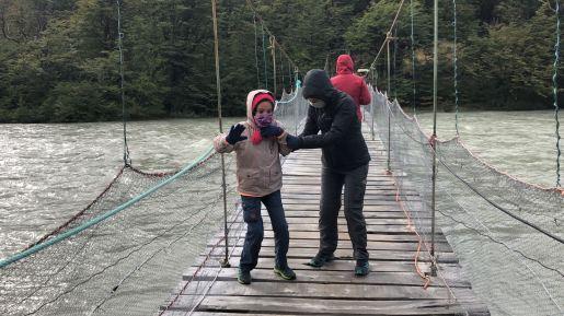 Pont de singe - Torres del Paine - Patagonie - Chili
