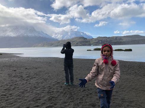 C'est chouette ici ! - Lago Grey - Torres del Paine - Patagonie - Chili