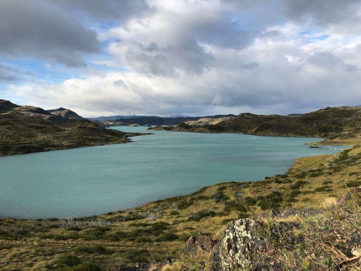 Lago Pehoe - Torres del Paine - Patagonie - Chili