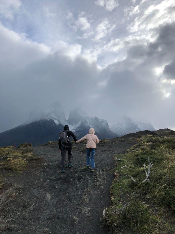 Vent de fou - Torres del Paine - Patagonie - Chili