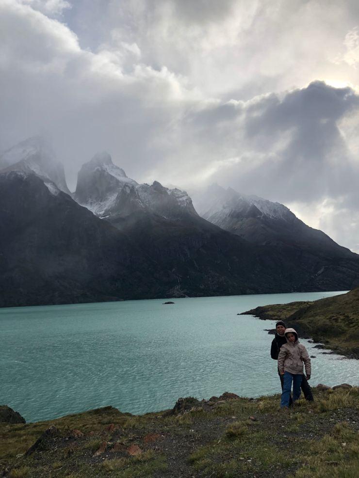 Face au Lago Nordenskjöld et au Cuerno - Torres del Paine - Patagonie - Chili
