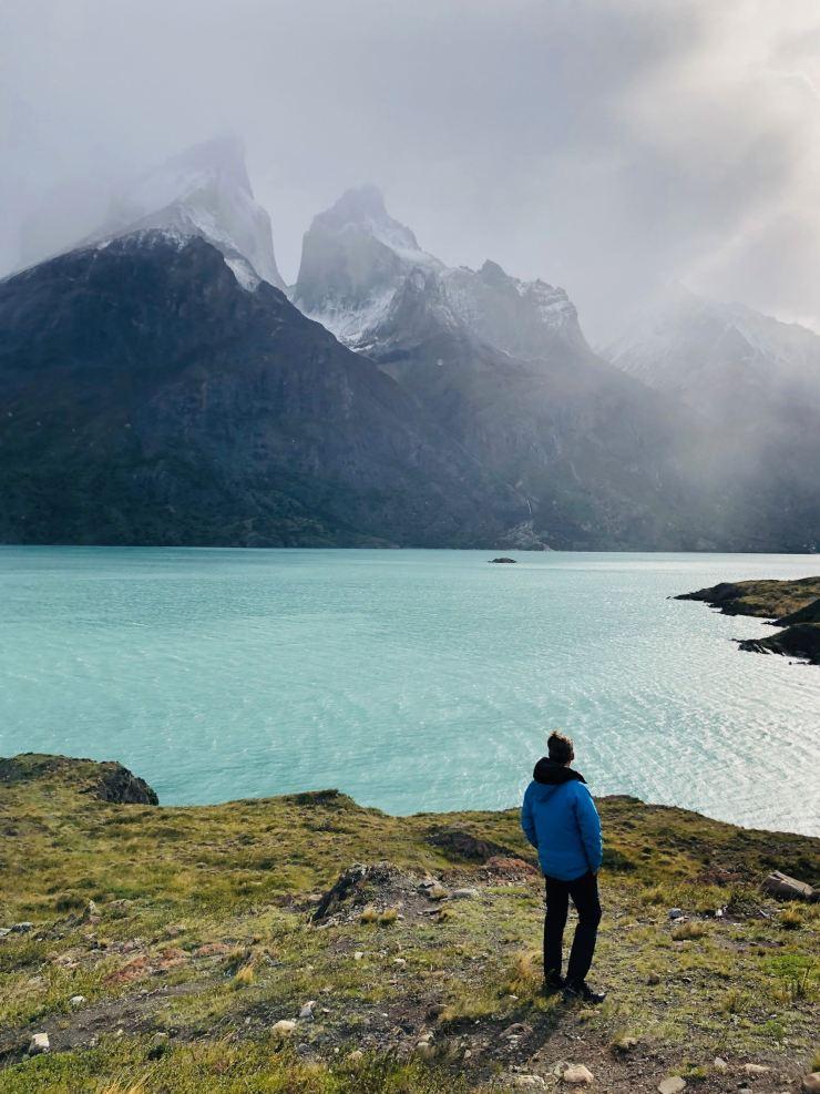 Au Mirador el Cuerno - Torres del Paine - Patagonie - Chili