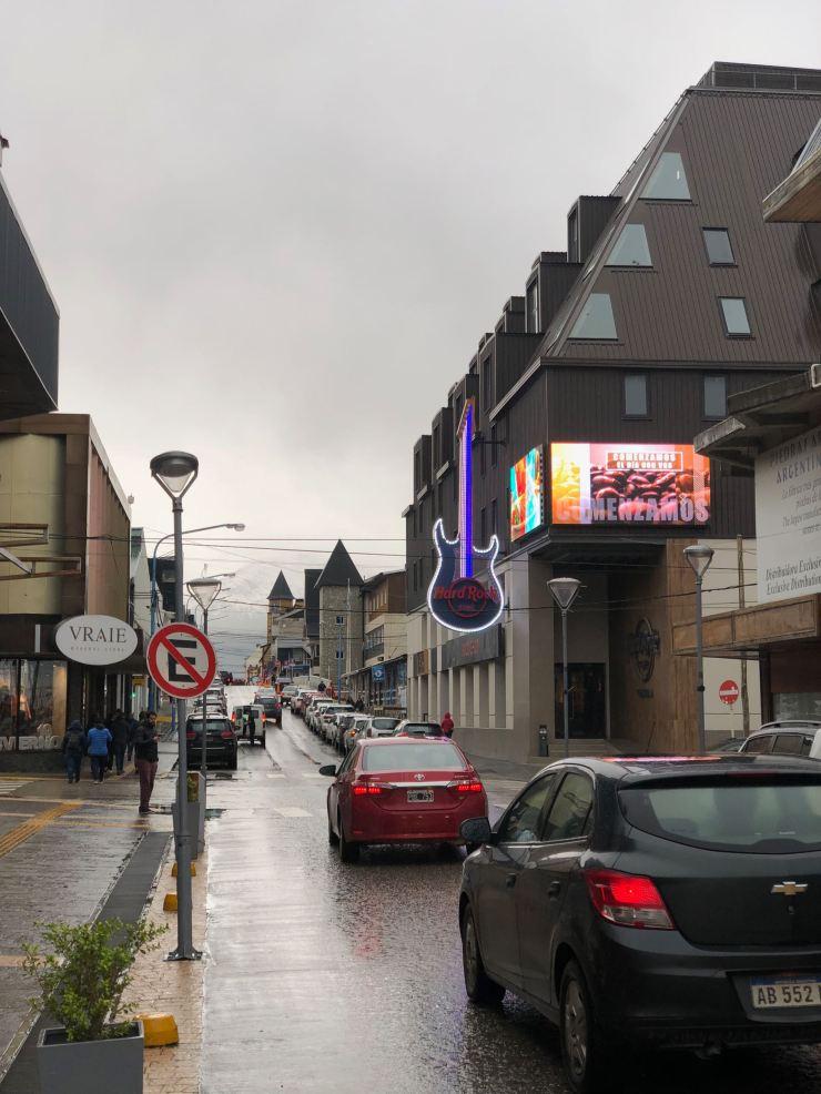Ushuaïa et son Hard Rock Café ! - Terre de Feu - Argentine