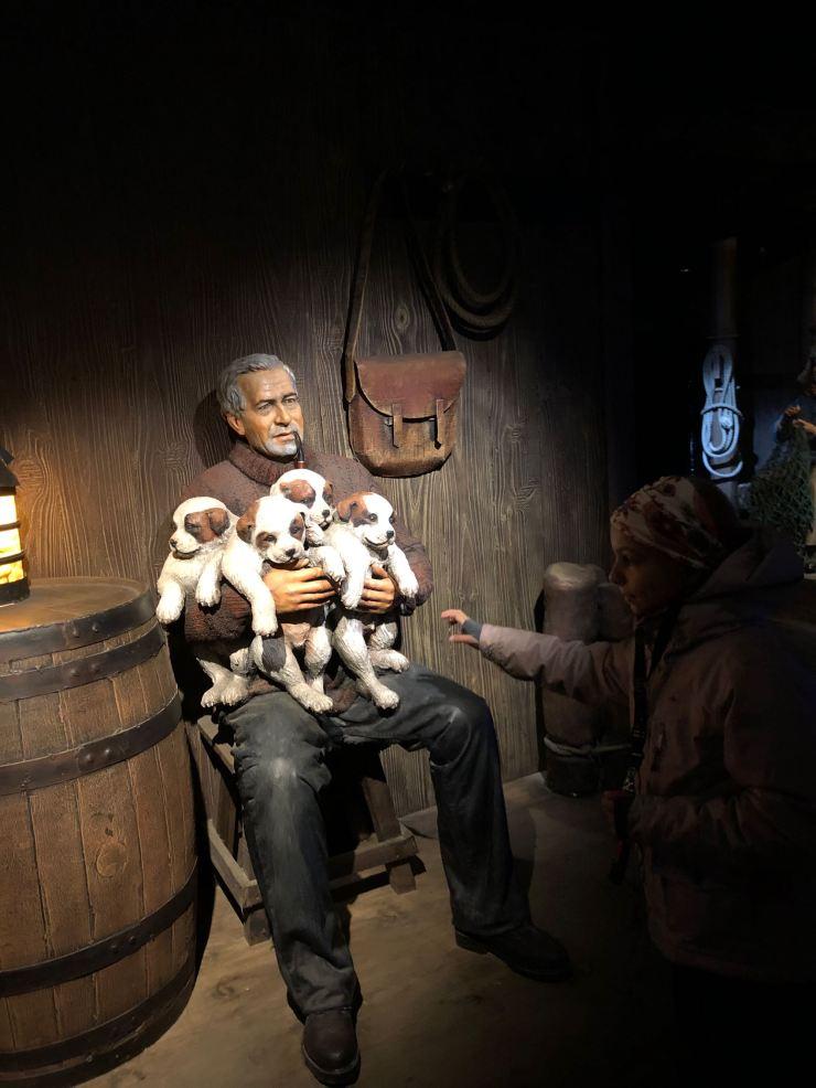 Ernest Shakleton - Dans le museo de Historia Fueguina - Ushuaïa - Terre de Feu - Argentine