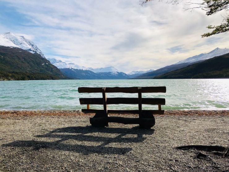 Devant le Lac Acigami - Parc National Terre de Feu - Argentine