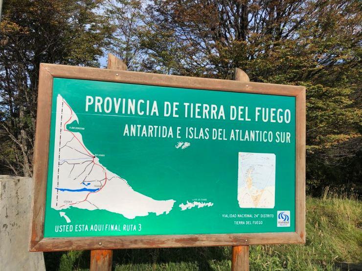"""On est officiellement au bout de la province """"Terre de Feu et Antarctique"""""""